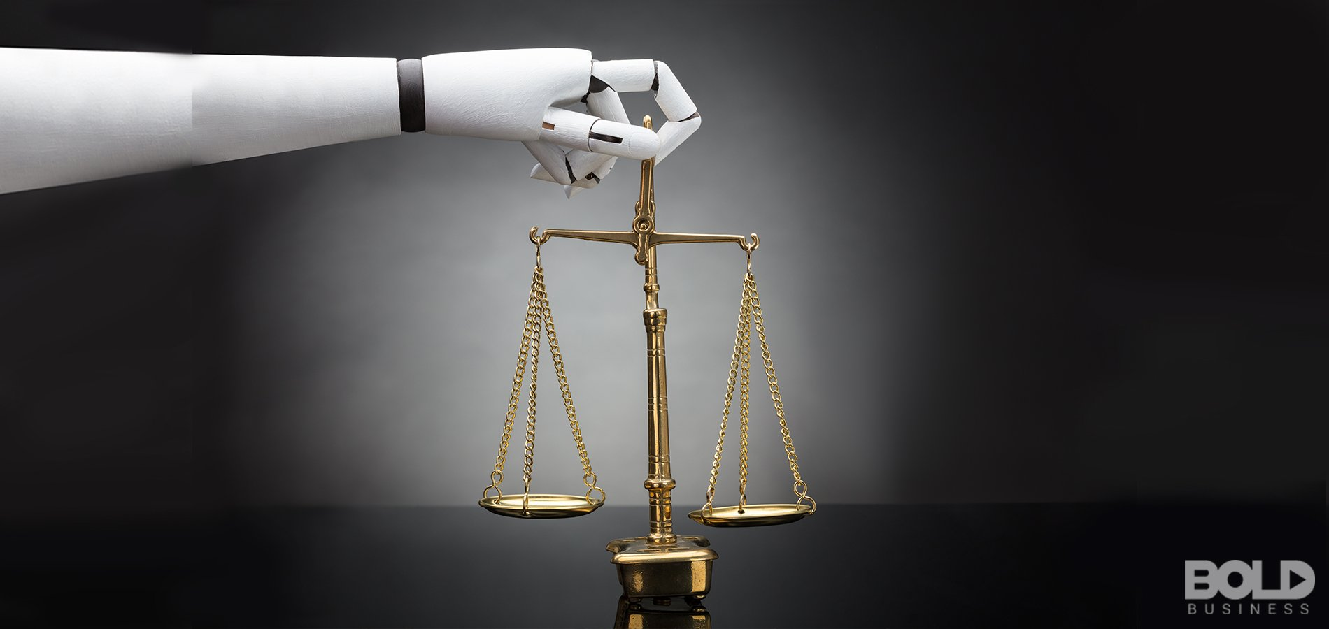 The scales of justice via robot