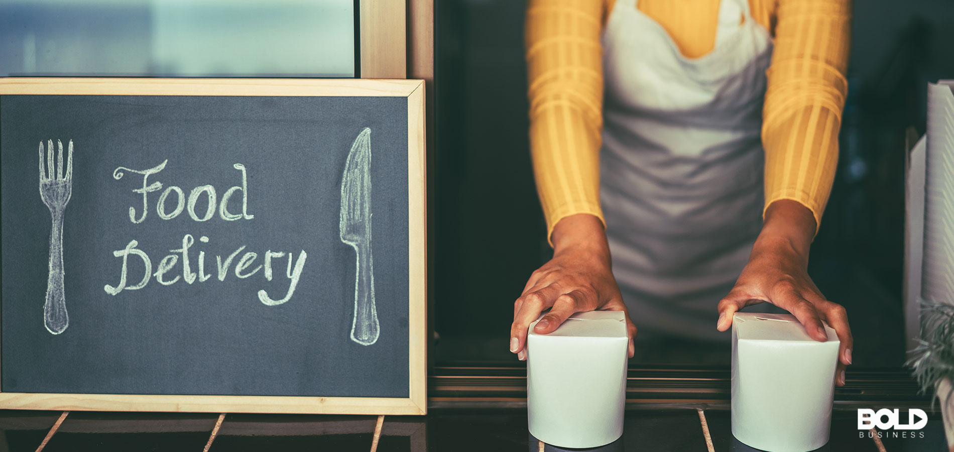 A ghost kitchen serving up delicious mystery food