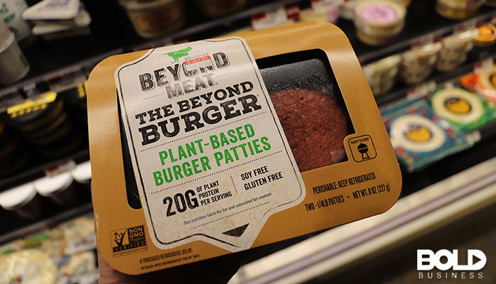 Some fake burgers that make me sad